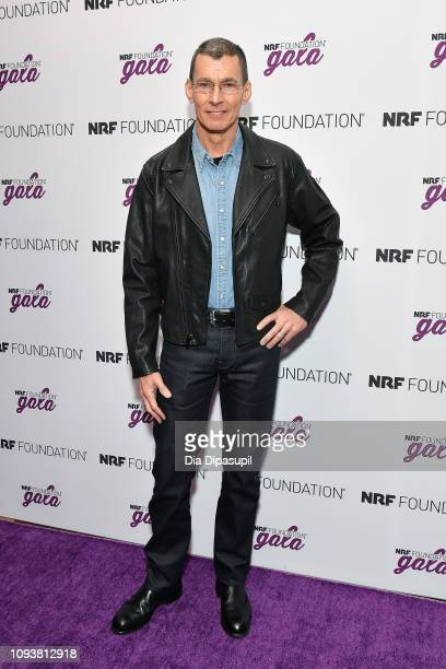 Levi Strauss & Co president & CEO Chip Bergh attends the 5th Annual NRF Foundation Gala at the Sheraton New York Times Square on January 13, 2019 in...