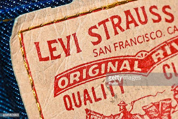 Levi Strauss & Co. tag on denim jeans model 512