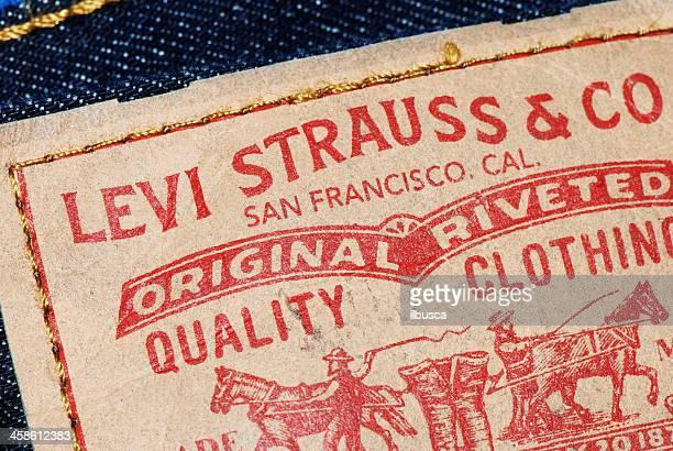 Levi Strauss & Co. tag on denim jeans model 512