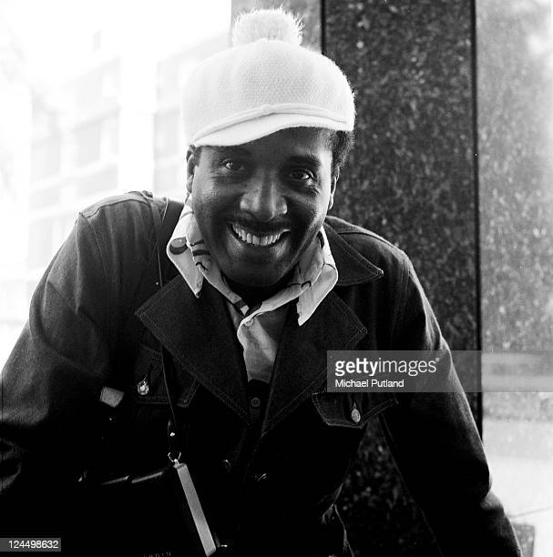 Levi Stubbs of the Four Tops portrait Churchill Hotel London 18th September 1970