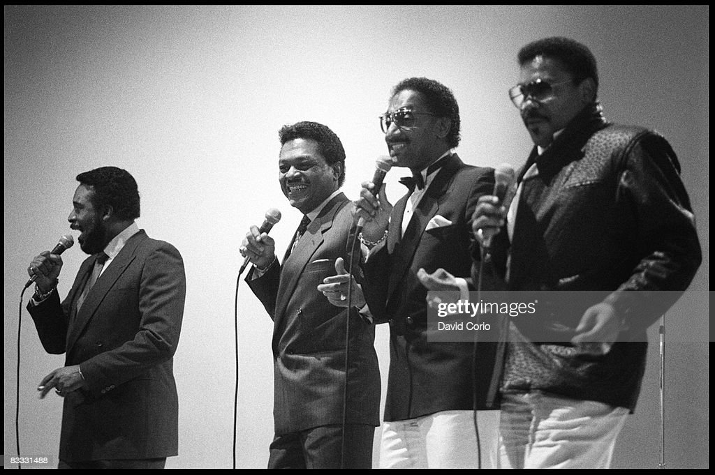 The Four Tops Live : News Photo
