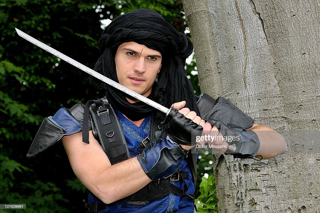 Levi Van Kempen on set during the filming of 'Mega Mindy en het zwarte kristal' on May 27, 2010 in Tongeren, Belgium.