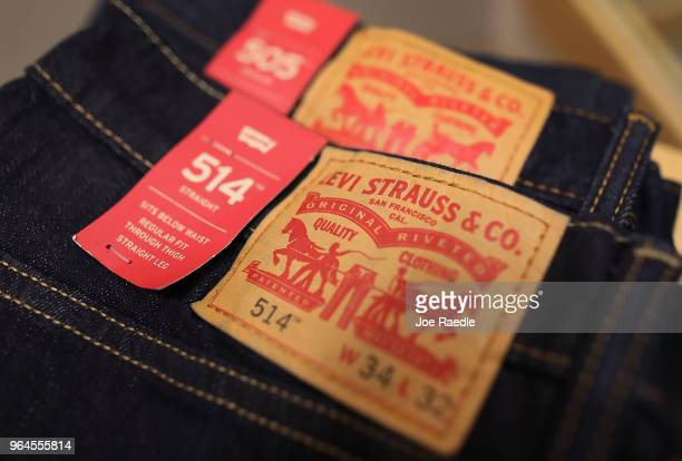 Levi's clothes are seen on the day President Donald Trump placed tariffs on steel and aluminum imports and European Union responded by warning that...