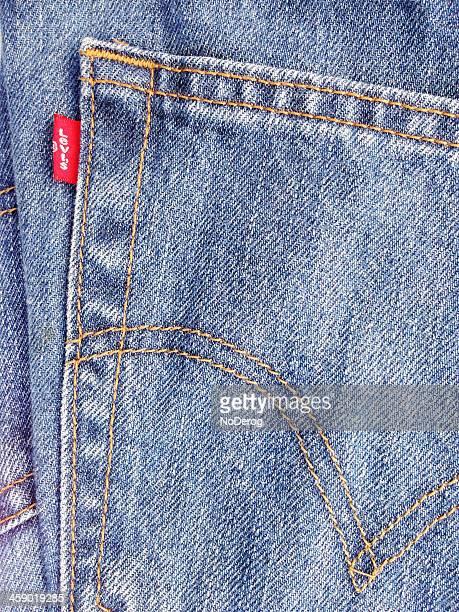 Levi's jeans closeup detail