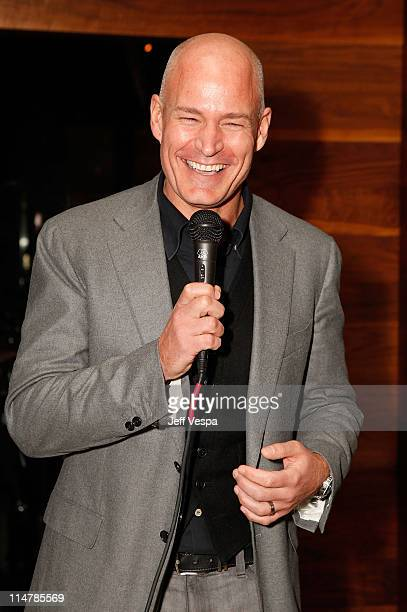 Levi's President Robert Hanson attends A Celebration of The Works of Dustin Lance Black and Gus Van Sant hosted by Levi's at Nobu on February 15 2009...