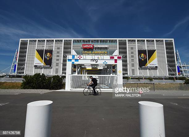 Levi's Stadium, home of the San Francisco 49ers and venue for the first COPA America 2016 soccer match between the United States and Colombia, is...