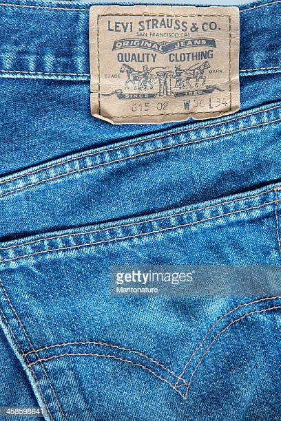 Levi's Strauss Blue Jeans (detail)