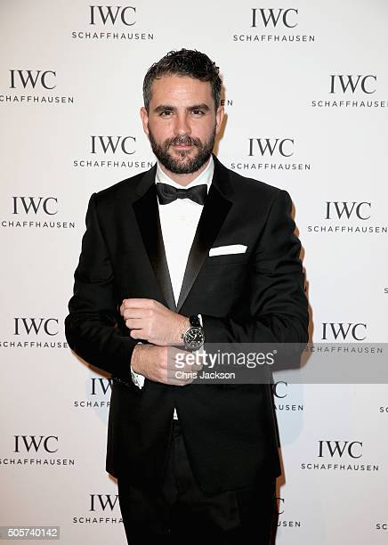 """Levison Wood attends the IWC """"Come Fly With Us"""" Gala Dinner during the launch of the Pilot's Watches Novelties from the Swiss luxury watch..."""