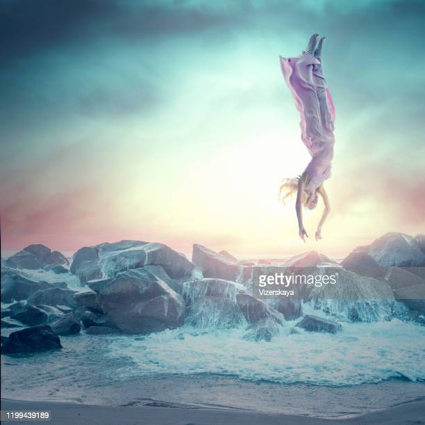 levitation - cross processed stock pictures, royalty-free photos & images