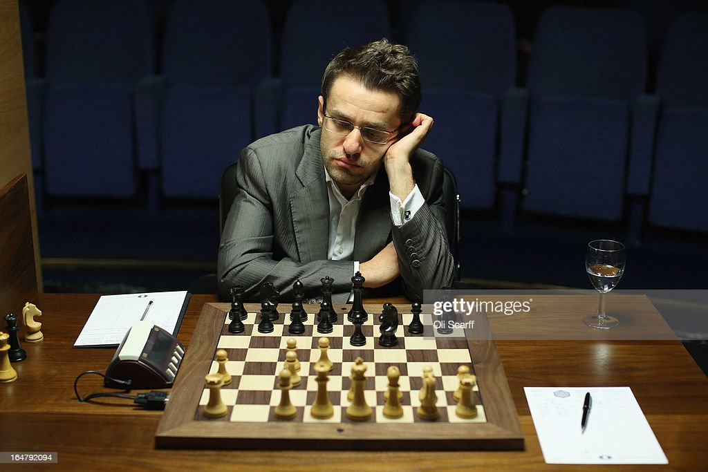 Chess Masters Compete In The World Chess Championship Candidates Competition : News Photo