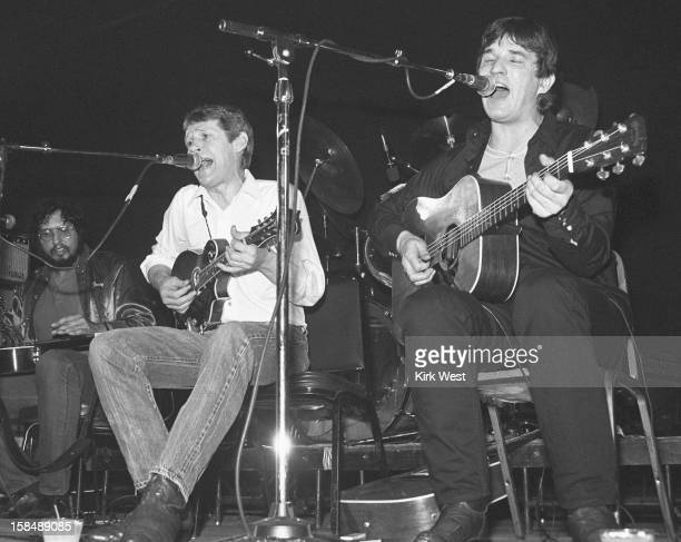 Levon Helm and Rick Danko perform at Stages Chicago Illinois March 6 1983