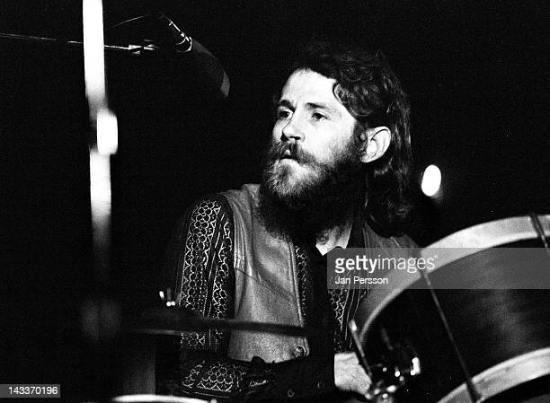 Levon Helm from The Band performing live onstage in Copenhagen Denmark on 27th May 1971