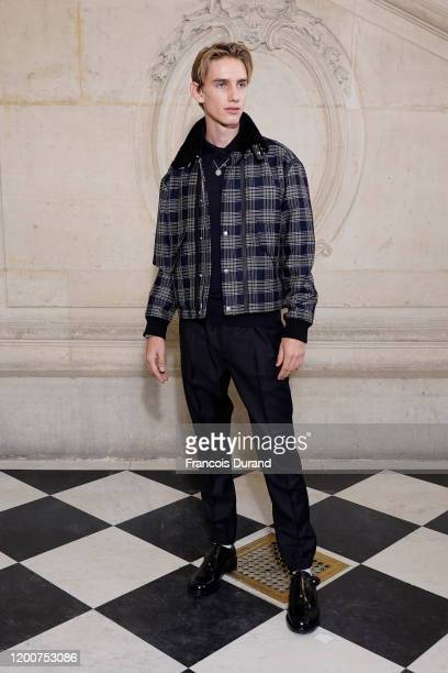 Levon Thurman Hawke attends the Dior Haute Couture Spring/Summer 2020 show as part of Paris Fashion Week on January 20 2020 in Paris France