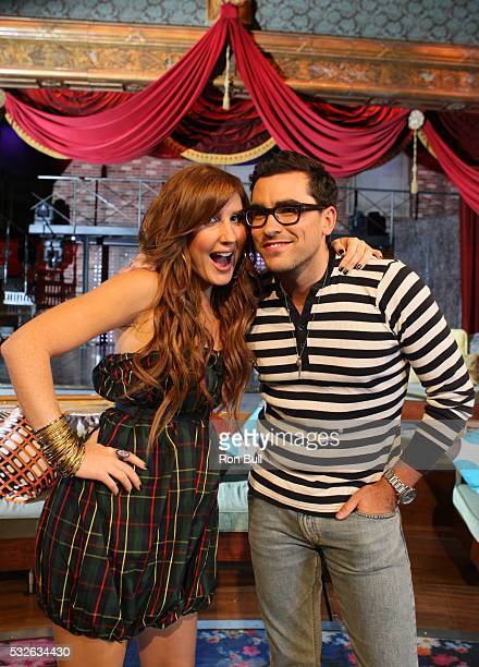 Levy an Cruickshank RB07 08 01 07 Dan Levy and Jessi Cruickshank hosts of Hills and Laguna Aftershows on set at MTV