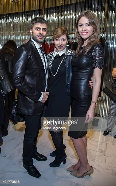 Lewaa Abdul Khalek Publisher Dawn DuBois and Olga Smirnova attends the GOTHAM JeanClaude Jitrois Celebration of The Newest Jitrois Boutique on...