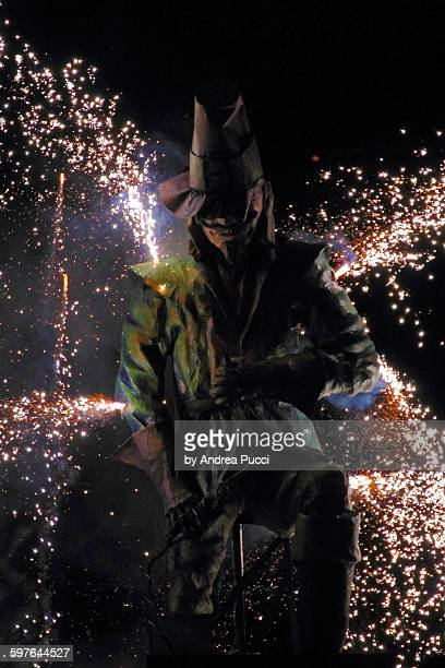 lewes bonfir, east sussex, united kingdom - guy fawkes stock photos and pictures
