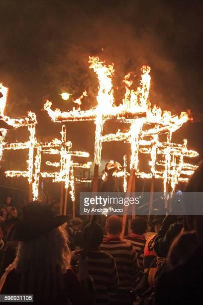 Lewes Bonfire, East Sussex, United Kingdom