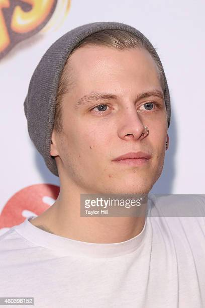 Lewi Morgan of Rixton attends Z100's Jingle Ball at Madison Square Garden on December 12, 2014 in New York City.