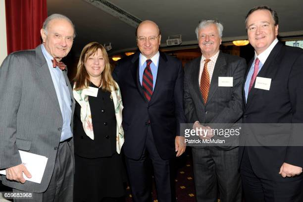 Lewis B. Rowland, Arlene Levine, John K. Castle, Robin Elliot and Howard Morgan attend CASTLE CONNOLLY Medical Ltd. Presents NATIONAL PHYSICIAN OF...