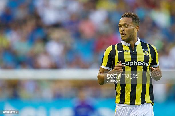 Lewis Baker of Vitesse during the Europa league third qualifying round match between Vitesse and Southampton FC on August 6 2015 at the Gelredome...