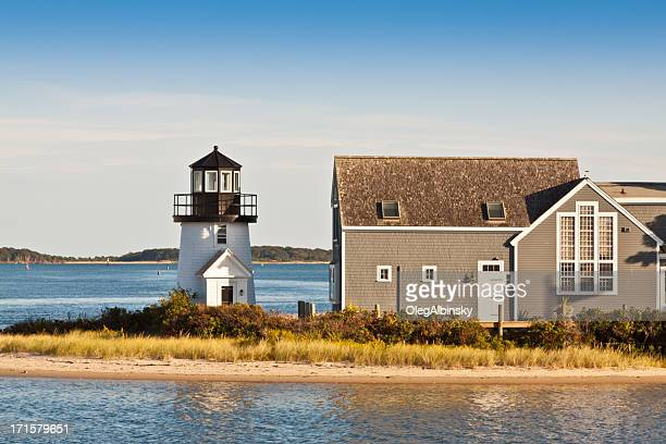 Lewis Bay Lighthouse, Hyannis, Cape Cod, Massachusetts, USA.