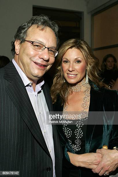 Lewis Black and Maria Cuomo Cole attend Jon Bon Jovi and Kenneth Cole Team Up For An Unforgettable Night of Fundraising At 'RSVP To Help' at Tribeca...