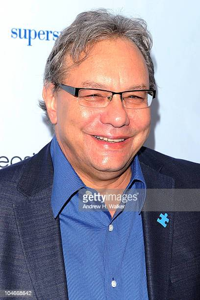 Lewis Black attends Comedy Central's Night Of Too Many Stars An Overbooked Concert For Autism Education at the Beacon Theatre on October 2 2010 in...