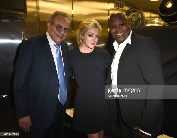 Lewis Black Jane Krakowski and Tituss Burgess attend 69th Writers Guild Awards New York Ceremony at Edison Ballroom on February 19 2017 in New York...