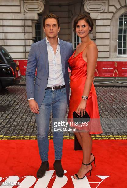 Lewis Bloor and guest attend a special screening of 'Home Again' at The Washington Mayfair Hotel on September 21 2017 in London England