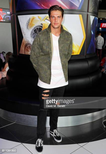 Lewis Bloor attends the 'Cars 3' charity gala screening at Vue Westfield on July 9 2017 in London England