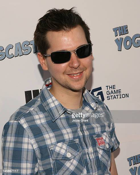 Lewis Brindley attends The Yogscast E3 PreGame Party by The Game Station and Maker Studios at Drai's Hollywood on June 6 2012 in Hollywood California