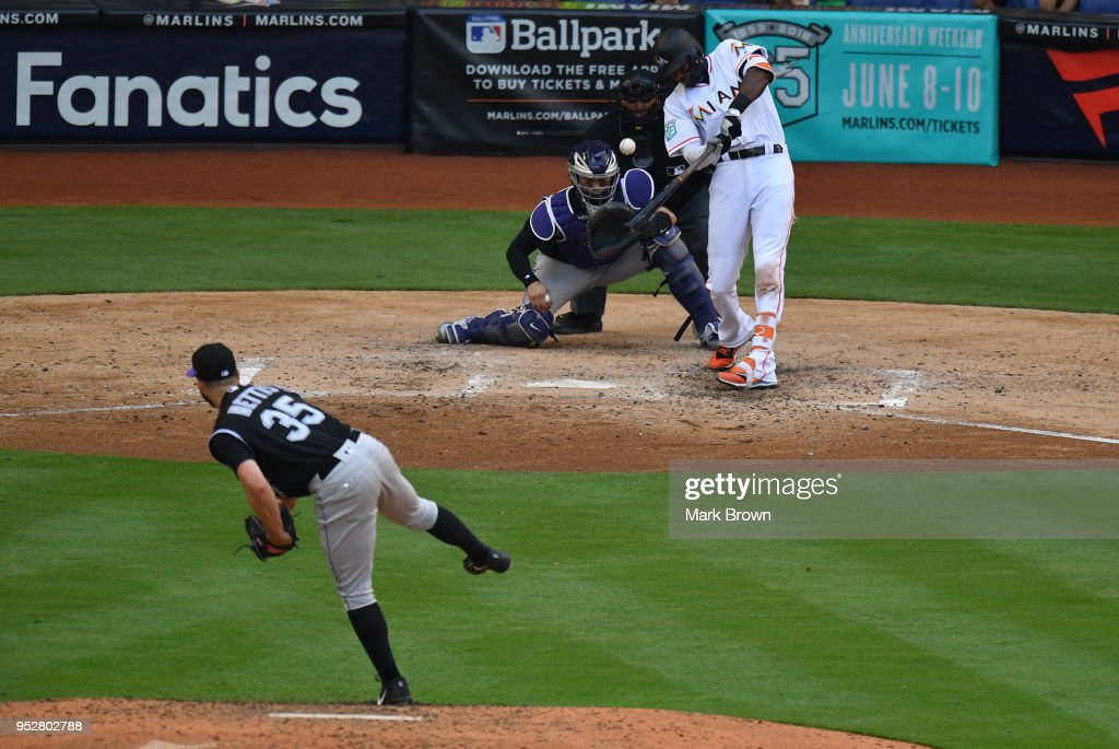 Colorado Rockies v Miami Marlins : News Photo