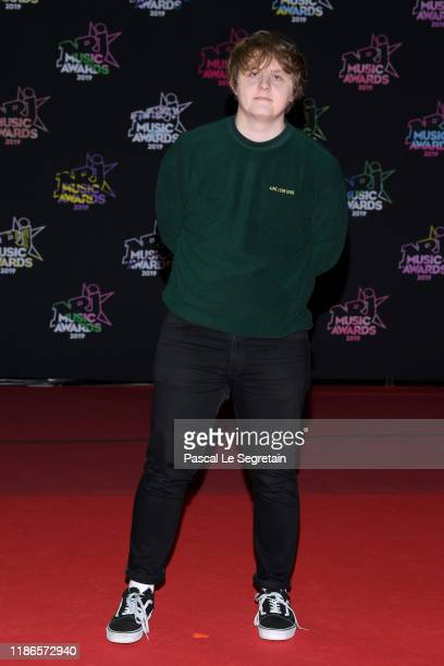 Lewis Capaldi attends the 21st NRJ Music Awards at Palais des Festivals on November 09 2019 in Cannes France