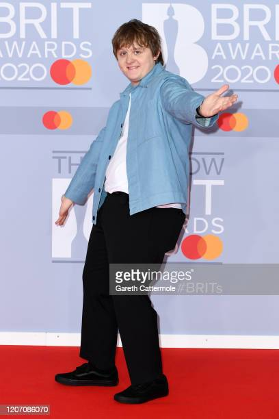Lewis Capaldi attends The BRIT Awards 2020 at The O2 Arena on February 18 2020 in London England