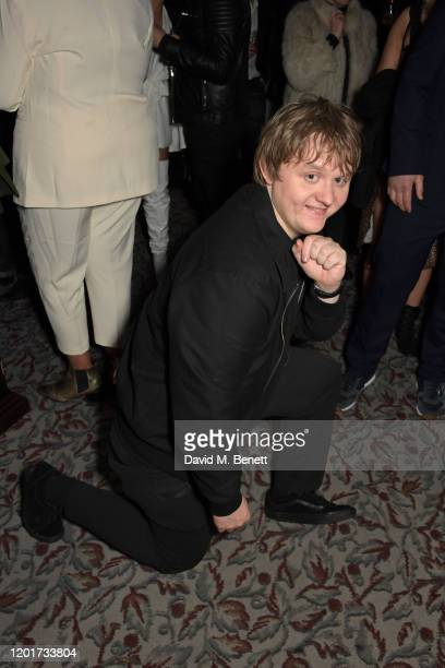 Lewis Capaldi attends the Universal Music BRIT Awards afterparty 2020 hosted by Soho House PATRON at The Ned on February 18 2020 in London England