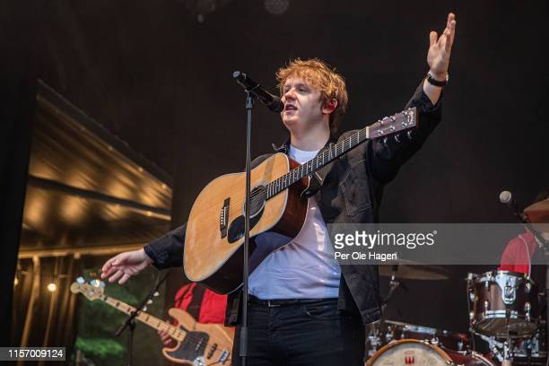 Lewis Capaldi on stage at OverOslo on June 19 2019 in Oslo Norway
