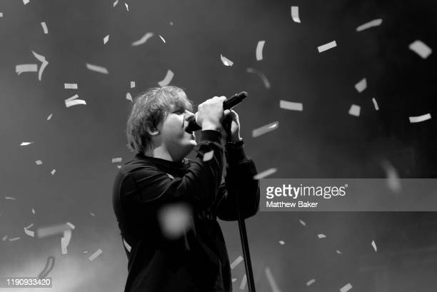 Lewis Capaldi performs at O2 Academy Brixton on November 29 2019 in London England