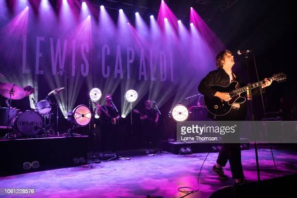 Lewis Capaldi performs at O2 Shepherd's Bush Empire on November 13 2018 in London England