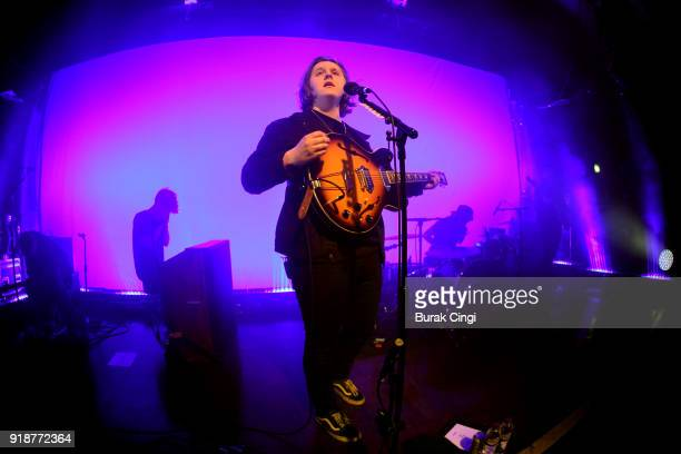 Lewis Capaldi performs at Scala on February 15 2018 in London England