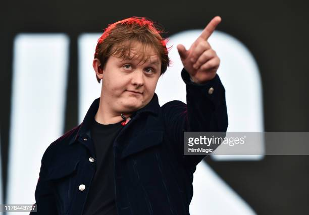 Lewis Capaldi performs at the Downtown Stage during the 2019 Life is Beautiful Music Art Festival on September 22 2019 in Las Vegas Nevada