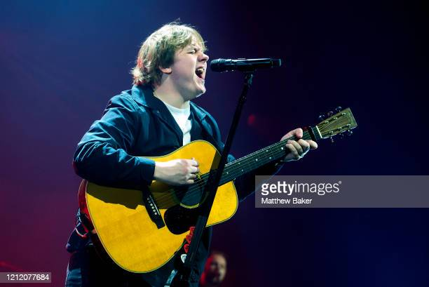 Lewis Capaldi performs at The SSE Arena Wembley on March 12 2020 in London England