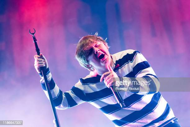 Lewis Capaldi performs at Usher Hall on December 5, 2019 in Edinburgh, Scotland.
