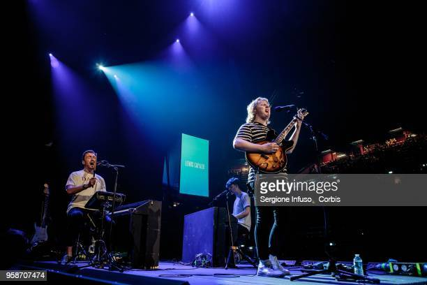 Lewis Capaldi performs on stage at Mediolanum Forum of Assago on May 11 2018 in Milan Italy Lewis Capaldi