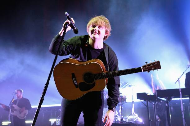 GBR: Lewis Capaldi Performs At O2 Academy Brixton, London