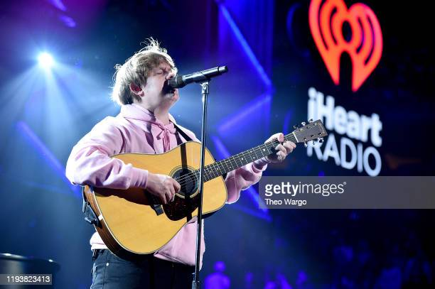 Lewis Capaldi performs onstage during iHeartRadio's Z100 Jingle Ball 2019 Presented By Capital One on December 13 2019 in New York City
