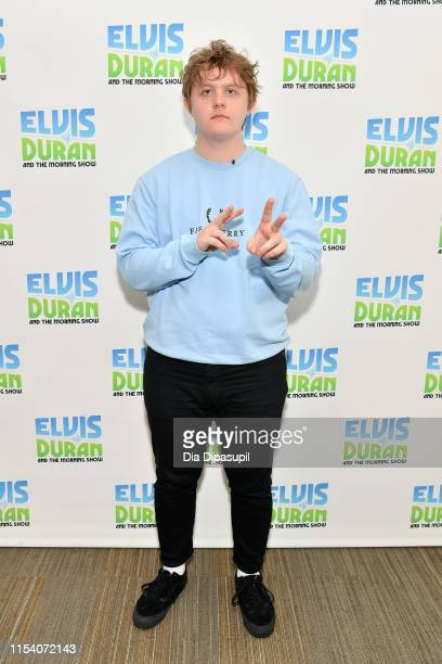 Lewis Capaldi visits Elvis Duran and the Z100 Morning Show at Z100 Studio on June 06 2019 in New York City