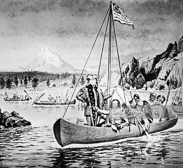 Lewis Clark on the Columbia River 180306