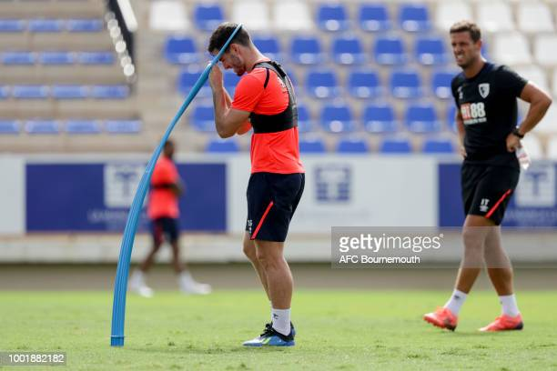 Lewis Cook of Bournemouth during preseason training on July 19 2018 in La Manga Spain