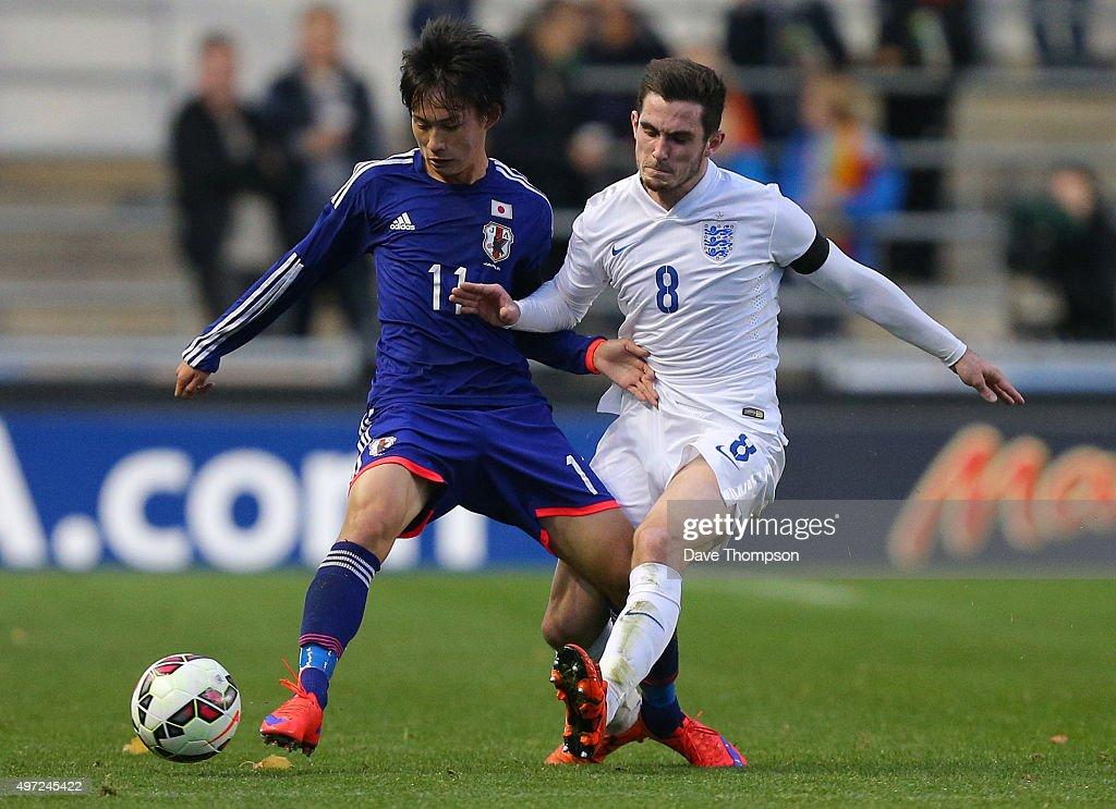 England U19 v Japan U19 - International Friendly : ニュース写真