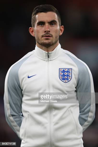 Lewis Cook of England U21's during the UEFA Under 21 Championship Qualifier match between England and Latvia at the Vitality Stadium on September 5...